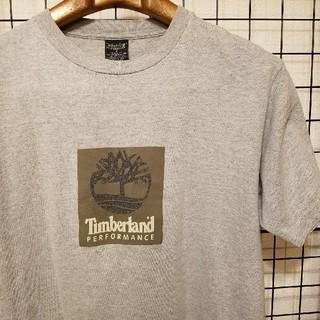 ティンバーランド(Timberland)のUSA製 Timberland PERFORMANCE プリント入り 半袖Tee(Tシャツ/カットソー(半袖/袖なし))