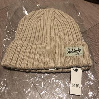 ジェイダ(GYDA)のGYDA ジェイダ ニット帽 ニットキャップ(ニット帽/ビーニー)