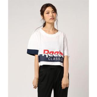 リーボック(Reebok)のReebok ショート丈Tシャツ(Tシャツ(半袖/袖なし))