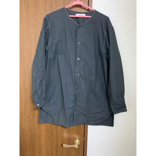 ネストローブ(nest Robe)のノーカラーオックスフォードシャツ(シャツ)