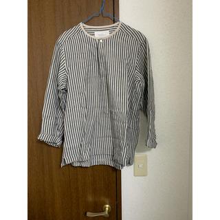 ネストローブ(nest Robe)のロンドンストライププルオーバーシャツ(シャツ)