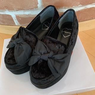 メリージェニー(merry jenny)のmerry jenny ビッグリボンローファー(ローファー/革靴)