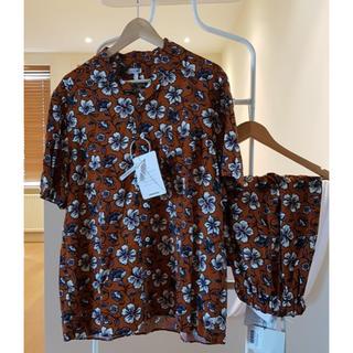 ロエベ(LOEWE)の美品 Loewe ロエベ セットアップ M アロハシャツ ショートパンツ(シャツ)