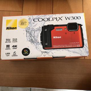 ニコン(Nikon)のNikon COOLPIX W300 ORANGE メーカー保証(コンパクトデジタルカメラ)