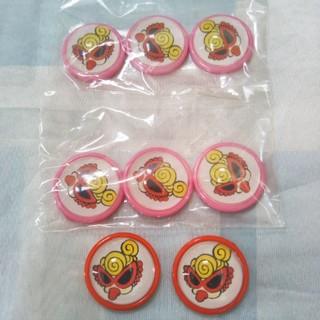 ヒステリックミニ(HYSTERIC MINI)のヒステリックミニ ハンドメイド素材デコパーツ 赤、ピンク色セット(各種パーツ)