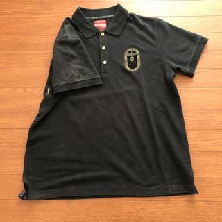 マークアンドロナ(MARK&LONA)のマーク&ロナ 黒ポロシャツ サイズXL  日本製(ポロシャツ)