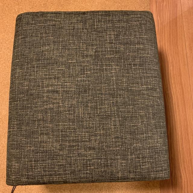 専用出品 よりこさま オットマン noyes グレー インテリア/住まい/日用品のソファ/ソファベッド(オットマン)の商品写真