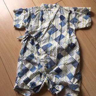 マーキーズ(MARKEY'S)のオーシャン&グラウンド 浴衣ロンパース  70(甚平/浴衣)