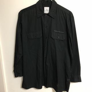 ユニフォームエクスペリメント(uniform experiment)のuniform experiment シャツ 黒(シャツ)