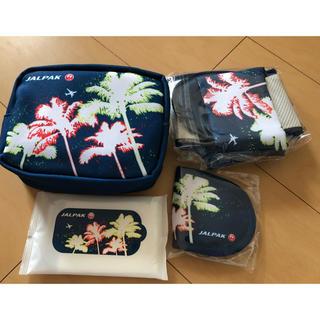 JAL トラベルセットポーチ 非売品(ポーチ)