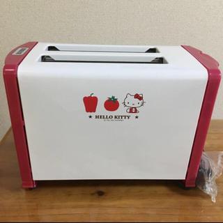 ハローキティ(ハローキティ)の新品♡ハローキティ  ポップアップトースター(調理機器)
