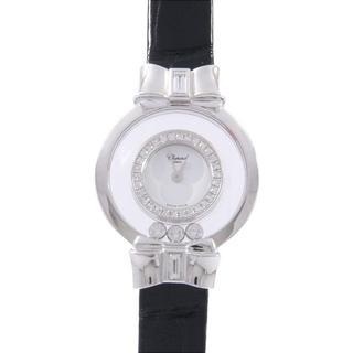 ショパール(Chopard)のショパール 205334-1001 ハッピーダイヤモンド WG/D・3P クォー(腕時計)