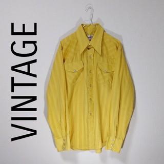 アートヴィンテージ(ART VINTAGE)のウエスタンシャツ USED品 長袖シャツ 総柄シャツ 柄シャツ VINTAGE(シャツ)