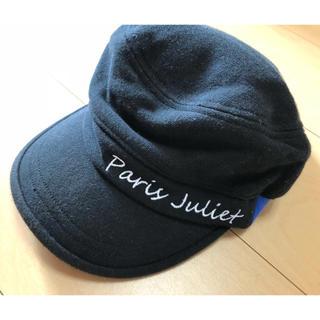 パリスジュリエット 帽子 キャップ(キャップ)