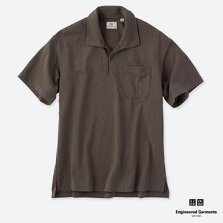 エンジニアードガーメンツ(Engineered Garments)のユニクロ エンジニアードガーメンツ ポロシャツ S オリーブ(Tシャツ/カットソー(半袖/袖なし))