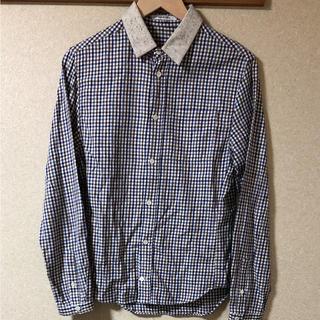 カルヴェン(CARVEN)のCARVEN 襟切替ギンガムチェックシャツ(シャツ)