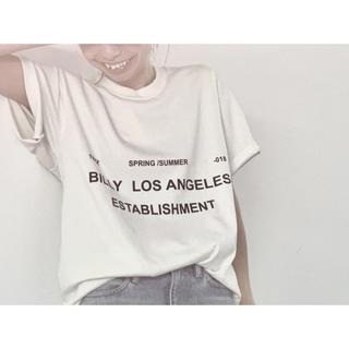 アパルトモンドゥーズィエムクラス(L'Appartement DEUXIEME CLASSE)のアパルトモン L'Appartement BILLY   T-shirt(カットソー(半袖/袖なし))