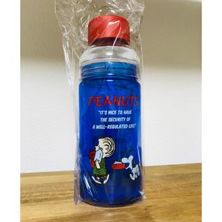 ピーナッツ(PEANUTS)のスヌーピー PEANUTS セパレートボトル580ml ブルー 水筒 マイボトル(タンブラー)