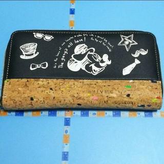 ディズニー(Disney)の長財布「ミッキーマウス」コルク(長財布)