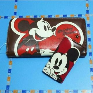 ディズニー(Disney)の長財布&キーケース「ミッキーマウス」(長財布)