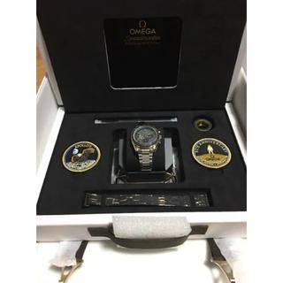 オメガ(OMEGA)のオメガ OMEGA アポロ11号 50周年記念 貴重 希少 資産価値 高騰必須(腕時計(アナログ))