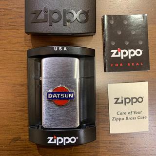 ニッサン(日産)のDATSUN ZIPPO 新品未使用未開封(タバコグッズ)