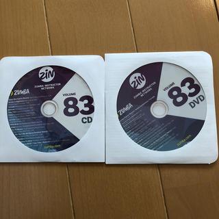 ズンバ(Zumba)のZin83 【CD/DVD】2枚セット(トレーニング用品)