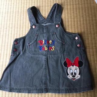ディズニー(Disney)の女子 ジャンパースカート  80(スカート)