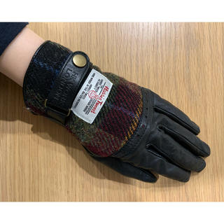 ハリスツイード(Harris Tweed)のハリスツイード 手袋 レディース(手袋)