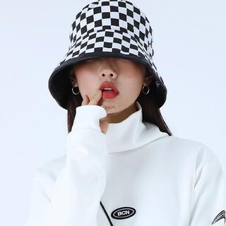 ピースマイナスワン(PEACEMINUSONE)のリバーシブル バケットハット 韓国ファッション peaceminsuone(ハット)