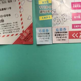 コウダンシャ(講談社)の五等分の花嫁  応募券(少年漫画)