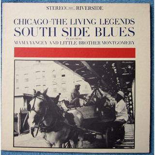 米 Riverside ブルースLP South Side Blues(ブルース)