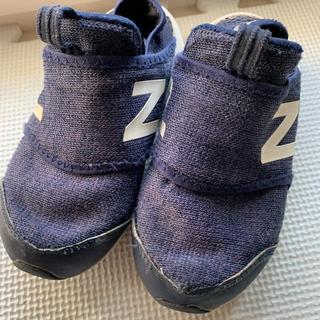 ニューバランス(New Balance)のニューバランス  スリッポン 16.5ネイビー(スリッポン)