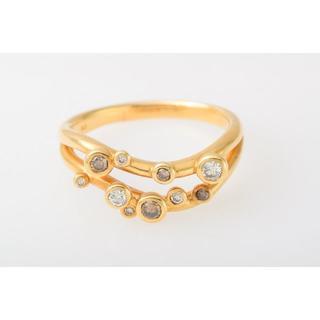 K18 ダイヤモンド 指輪 品番8-39(リング(指輪))