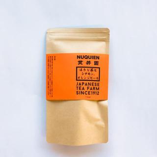 ほうじ茶とオレンジピール・シナモンのスパイスティ 〈普通郵便〉 送料込720円(茶)