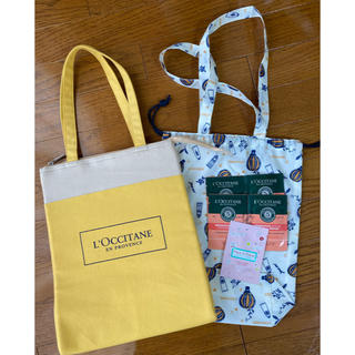 ロクシタン(L'OCCITANE)のロクシタン保冷バッグ おまけ付き(ハンドバッグ)
