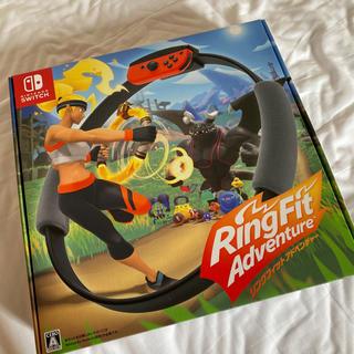 ニンテンドースイッチ(Nintendo Switch)のリングフィットアドベンチャー 美品(家庭用ゲームソフト)