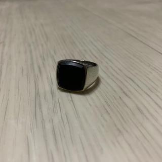 エディション(Edition)のTOM WOOD トムウッド オニキス リング 指輪 マット 艶消し シグネット(リング(指輪))