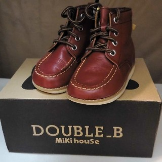 ダブルビー(DOUBLE.B)のミキハウス ダブルB ブーツ(ブーツ)