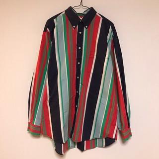 マックレガー(McGREGOR)のマックレガー 長袖シャツ ボタンダウン ストライプ マルチカラー 日本製(シャツ)