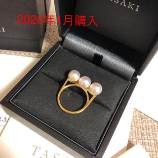 タサキ(TASAKI)のTASAKI タサキ バランス エラリング イエローゴールド (リング(指輪))