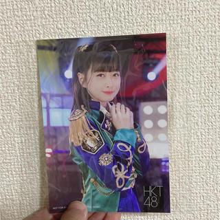 松岡はな 生写真 12thシングル 「意志」