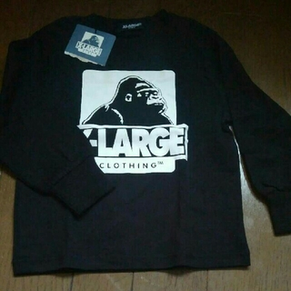 エクストララージ(XLARGE)の新品 エクストララージ キッズ 100 長袖Tシャツ(Tシャツ/カットソー)