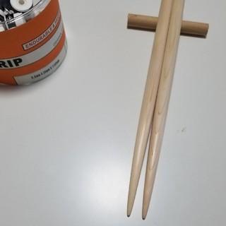 ※単品限定:ヒノキ【太鼓の達人 マイバチ】完成品 1組【万能型】(その他)