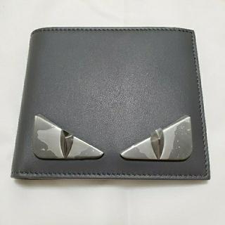 FENDI - FENDI フェンディ モンスター 二つ折り財布