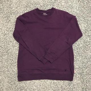コーエン(coen)のcoen ロンT  パープル(Tシャツ/カットソー(七分/長袖))