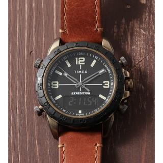 タイメックス(TIMEX)の【新品】TIMEXパイオニアコンボ ブラック×タン(腕時計(アナログ))
