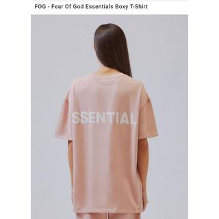 フィアオブゴッド(FEAR OF GOD)のXS FOG Essentials Boxy T-Shirt Tee Tシャツ(Tシャツ(半袖/袖なし))