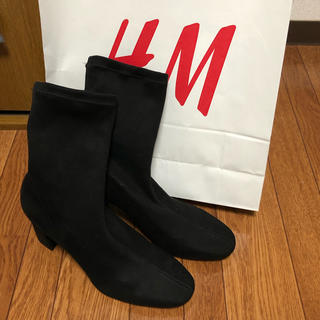 エイチアンドエム(H&M)のヒールブーツ(ブーツ)