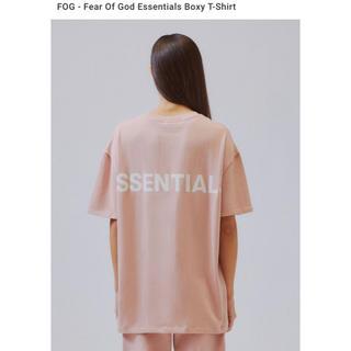 フィアオブゴッド(FEAR OF GOD)のM FOG Essentials Boxy T-Shirt Tee Tシャツ(Tシャツ(半袖/袖なし))